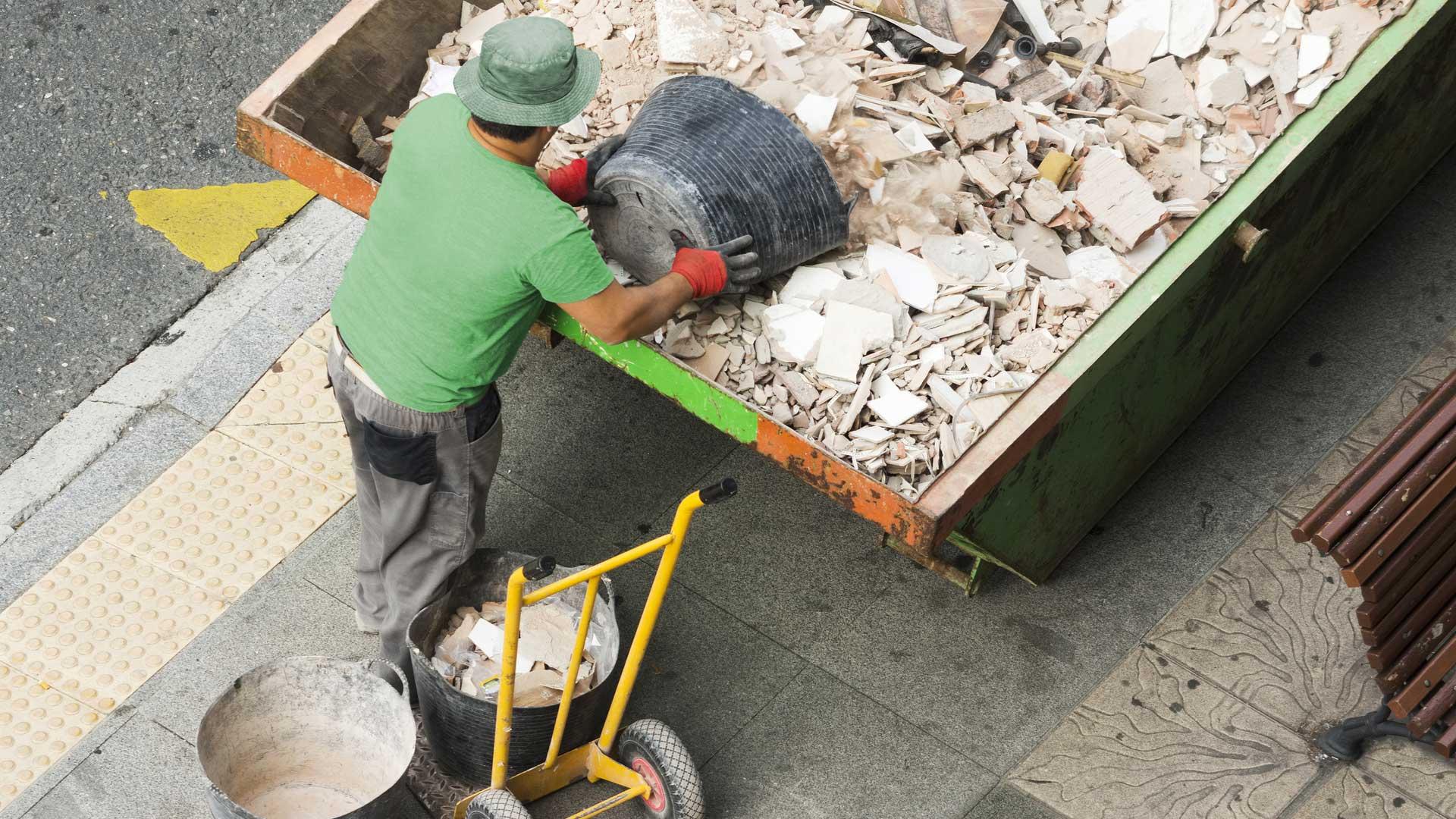 déchets chantiers