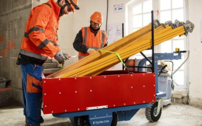 Chariot de manutention électrique Kross Builder
