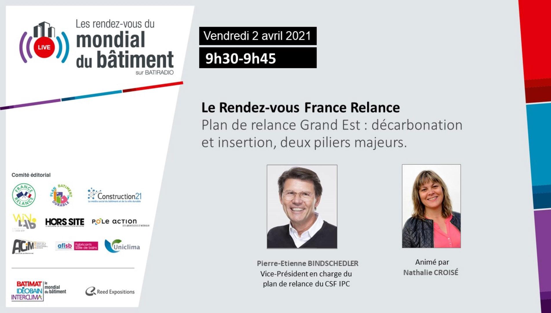 France Relance RDV du Mondial