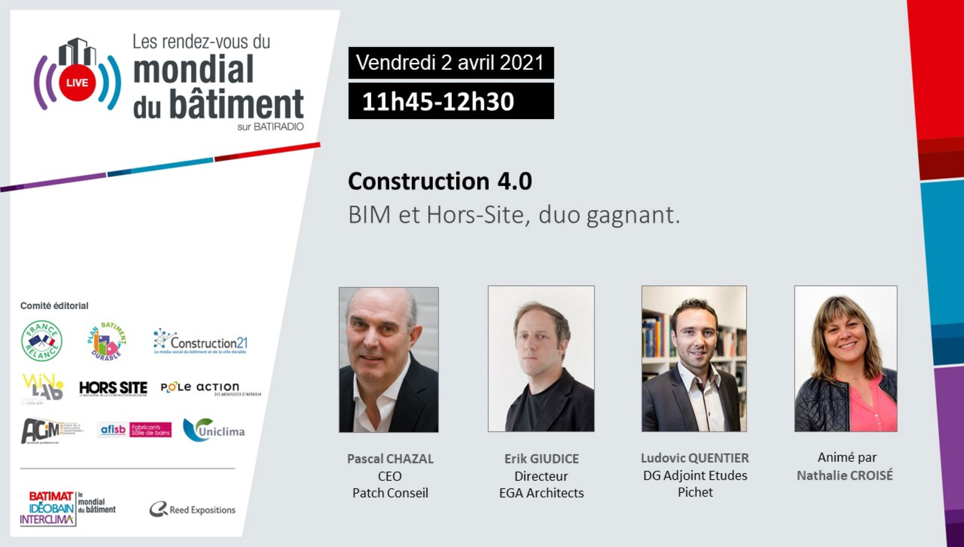 Construction 4.0 RDV du Mondial