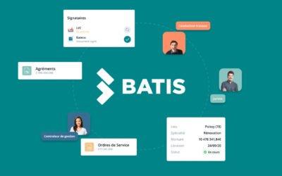 Batis.io, Le logiciel de pilotage administratif pour vos chantiers
