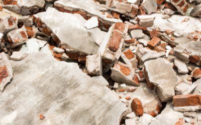 Déchets de chantier : la Loi AGEC
