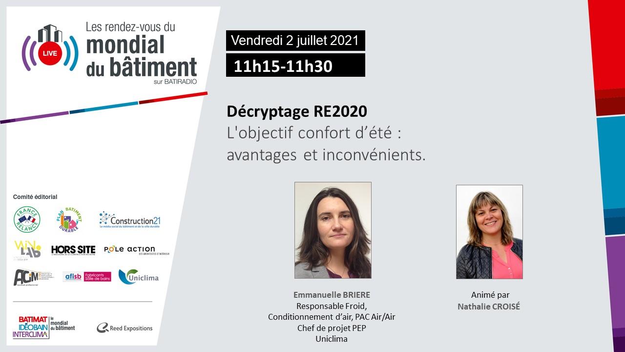 RE2020 decryptage