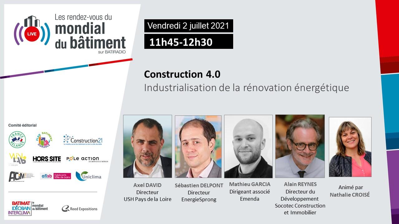 Construction 4.0 Du 2 Juillet