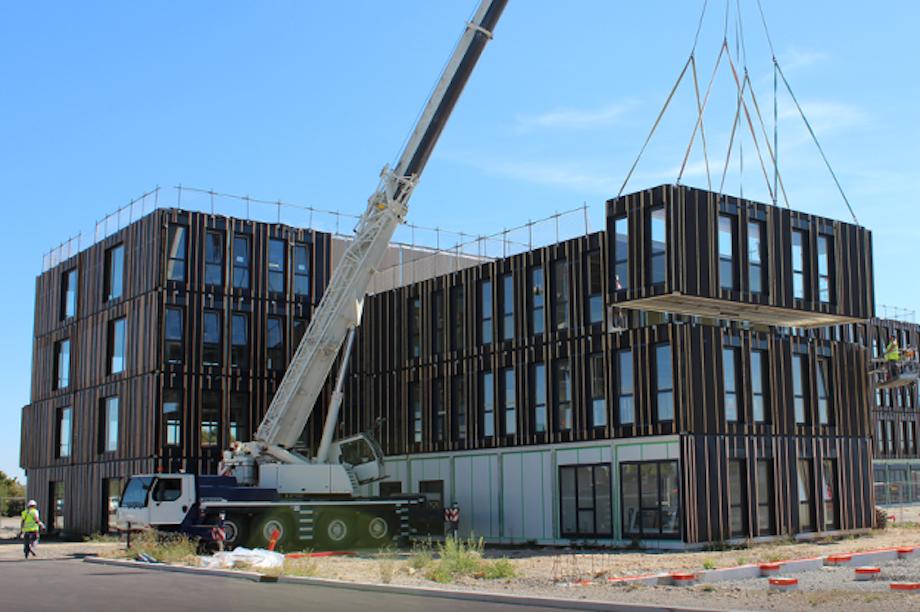 campus hors-site,BIM, construction
