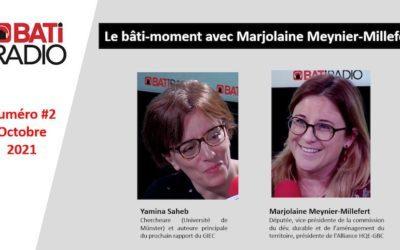 Marjolaine Meynier-Millefert reçoit Yamina SAHEB