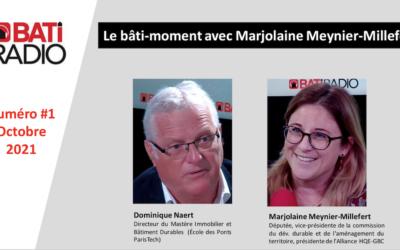 Marjolaine Meynier-Millefert reçoit Dominique Naert