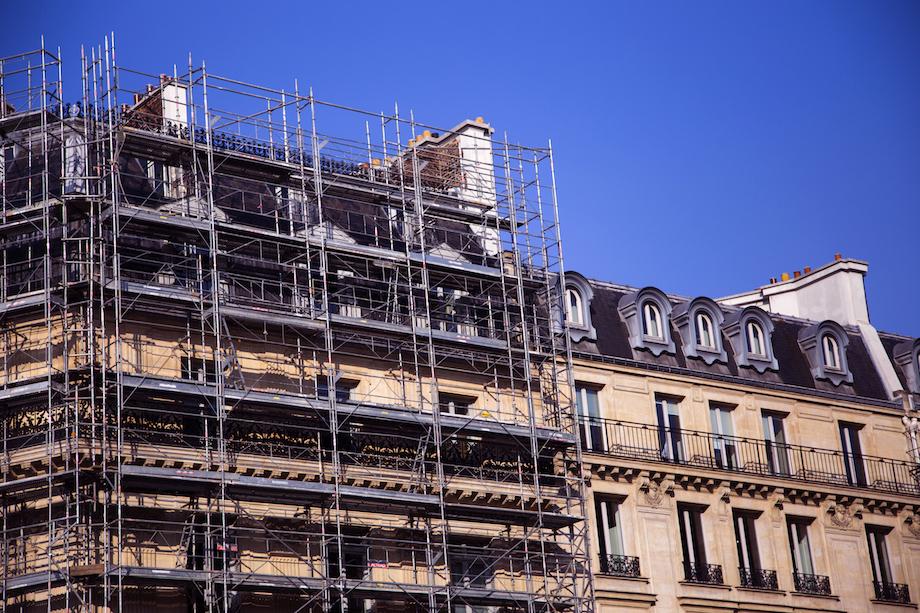 Rénovation immeuble